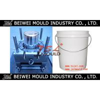 China hot sale injection paint bucket plastic mould China price wholesale