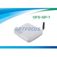 China 10 / 100 Base - T 1 Channel VOIP GSM Gateway 850MHz 1800MHz  with SIP / H.323 wholesale