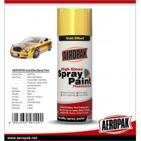 China AEROPAK Metallic spray paint, all purpose auto acrylic resin paint wholesale