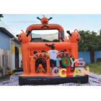 Quality Crazy Large Halloween Inflatable Haunted House Obstacle Course Equipment Outdoor for sale