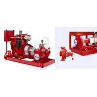 China Motor Driven Electric Motor Driven Fire Pump With Eaton Cotroller UL/FM NFPA20 on sale