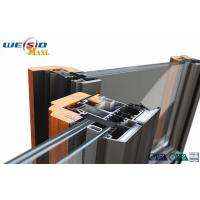 China Windows Aluminium Extruded Profile 12 Micro Anodizing Thickness wholesale