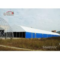 China 20m by 100m Steel Frame White PVC Waterproof Large Storage Tents for Semi-permanent Structure wholesale