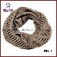 China 2012 Chunky Knit Pointelle Crochet Scarf (W46-1) wholesale