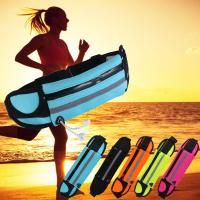China Bright Color Tactical Bike Waist Bag For Phone , Waterproof Fanny Pack For Running wholesale