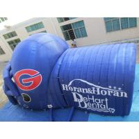 China inflatable helmet/inflatable camping tent/inflatable football helmet tunnel wholesale