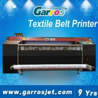 China Cotton Canvas Printing Machine High Quality Textile Belt Printer 1.8m with Dual DX5 Heads wholesale