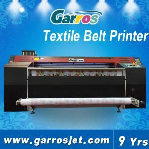 China Digital Textile Belt Printer Direct to Print Cotton Fabric Printing Machine Garros Brand wholesale