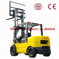 China 5T Balance Weight Type Diesel Forklift Truck With 5000kg Rated Capacity on sale
