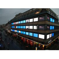 China Iron P8 HD Led Window Display Screen LED Advertising Billboard , Energy Saving wholesale