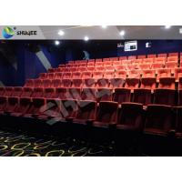 Quality Professional Imax Movie Theater 4D Sound Vibration Cinema With 100 Seats for sale
