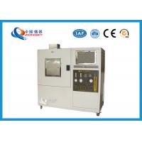 China Baking Finish Plastic Smoke Density Chamber With ISO565 Certification wholesale
