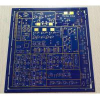 Buy cheap 8 layers FR-4 blue soldmask 1.6mm 1OZ copper thickness multilayer PCB board from wholesalers