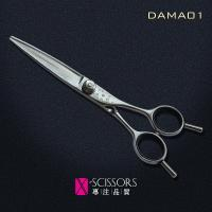 China Damascus steel Opposing Handle hair cutting scissor DAMA01 wholesale