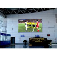 China Wall Mounting Indoor Advertising Led Display Screen P4mm 1920Hz Refresh Rate wholesale