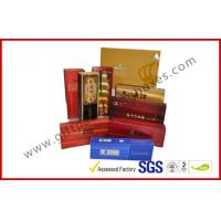 Buy cheap Rectangle Handmade Rigid Board Cigar Gift Boxes , Custom 157g Coated Paper E Cigar Packages from wholesalers