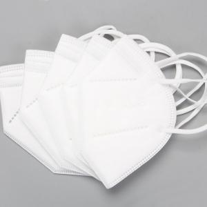 China GB2626-2006 Folding Anti Fog KN95 Respirator Earloop Mask wholesale