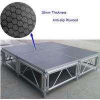 China 6082-T6 Anti-slip Waterproof Plywood Portable Stage For Concert wholesale