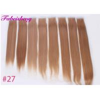 China Brazilian Virgin Seamless Tape In Hair Extensions One Donor Full Cuticle wholesale