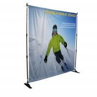 China Telescopic Step And Repeat Backdrop Banner Durable Heavy Duty Hardware wholesale