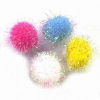 China Iris Pompom, Available in Various Colors and Sizes wholesale