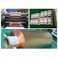 China Soft Annealed Rolled Copper Foil For Conductive Tape Thickness 0.02mm wholesale