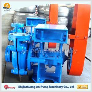electric motor drive horizontal ash slurry pump china manufacturer