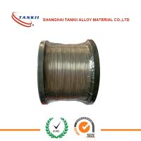 China 19 Strands Nicr Alloy / Nicr 8020 Heat Resistant Wire For Pink Ceramic Pad Heater Assemblies wholesale