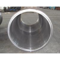 China ASTM DIN EN SS Carbon Steel Forgings For Heavy Machine , Barrel Forging Cylinder Sleeve wholesale
