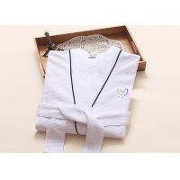 China Environment Friendly Dying Luxury Bath Robes , Terry Towelling Dressing Gown wholesale