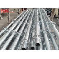 China 48.3mm Tube Layher Scaffolding System Galvanized For Concrete Construction wholesale