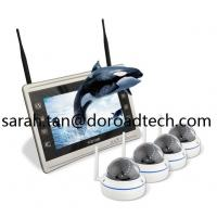 China 4CH 1080P WIFI IP Dome Cameras NVR Kit WiFi Camera with HD LCD Screen Display NVR on sale