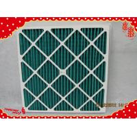 China 24x24x2 MERV8 Cardboard synthetic fiber disposable panel pleated air filter wholesale