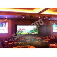China Hire High Resolution Indoor Advertising LED Display Video Wall 17222 Dots / ㎡ Programmable wholesale