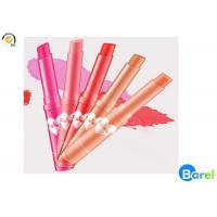 China Pink 24 Hours Non Sticky Long Lasting Lip Gloss Tubes Moistening wholesale