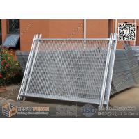 China China Temporary Fencing Panels with Rubber Feet | height 2100mm, Width 2400mm | AS4687-2007  Standard wholesale
