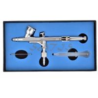 China Gravity feed Dual Action Airbrush for Art Body Makeup painting  0.25mm nozzle  9CC wholesale