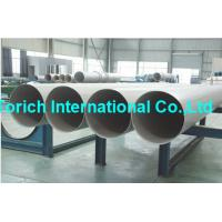 China A358/A358M High Temperature Inconel Welded Stainless Steel Tube / Electric Fusion Welded Pipe wholesale