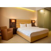 China Single Room Modern Hotel Bedroom Furniture , Hotel Guest Room Furniture wholesale