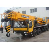 China 4 Section Boom Mobile Truck Crane With 34 Meter Height 35 Ton Lifting Capacity wholesale