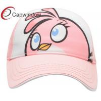 Pink Character Birds Graphic Cotton Baseball Caps for Kids / Children's Leisure Baseball Cap