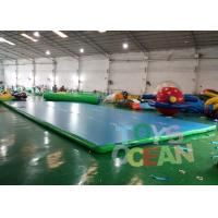 Quality Durable Gymnastics Air Track Inflatable Tumble Track Mat For Martial Art Sport for sale