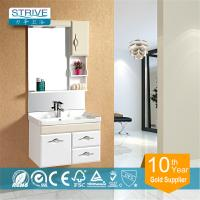 China lamp PVC bathroom wash basin cabinet wholesale