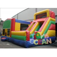 China Large Juniors Inflatable Module Bouncer Obstacle Course Combo For Kids / Adults wholesale