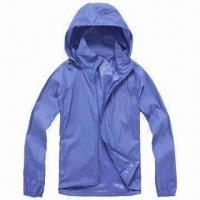 China Men's Windbreaker Jacket with Breathable Feature wholesale