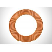 China Seamless Copper Refrigeration Tubing 3/8 Soft Annealed Copper Tubing wholesale