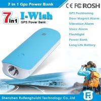 China long battery life magnetic GPS tracker power bank manufacturer with free online soft
