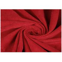 China 100% Cotton Red Color Wide Wale Corduroy Fabric For Jacket , Eco Friendly wholesale