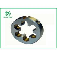 China Metric / Inch Pipe Threading Dies , High Hardness 1 Inch Die TIAIN Coated wholesale