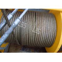 China Three Layers Spooling Winch Drums with Lebus Grooving for Lifting Area wholesale